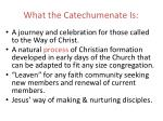 what the catechumenate is