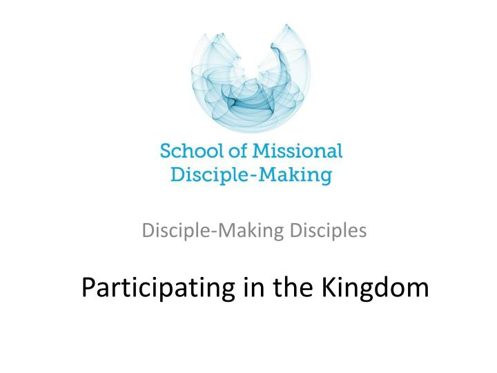 participating in the kingdom n.