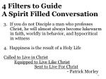 4 filters to guide a spirit filled conversation1