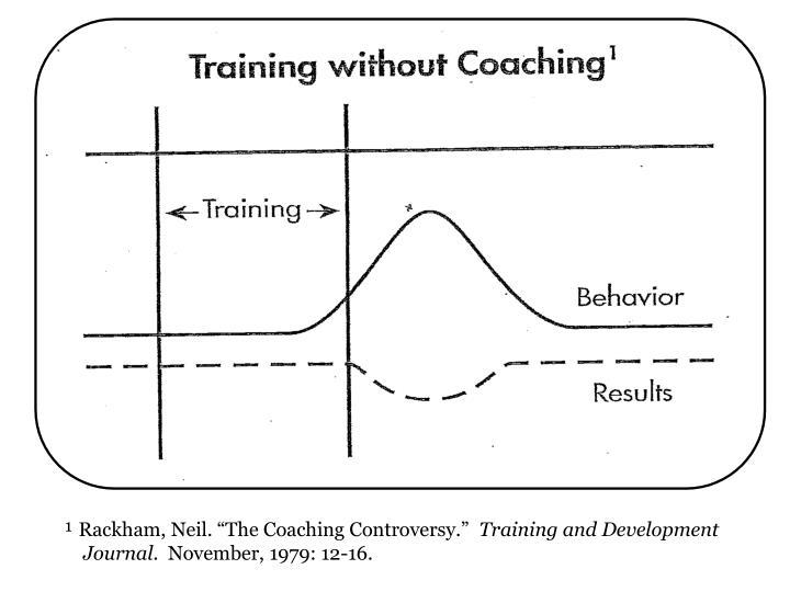 "¹ Rackham, Neil. ""The Coaching Controversy."""