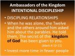 ambassadors of the kingdom intentional discipleship2