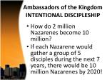ambassadors of the kingdom intentional discipleship4