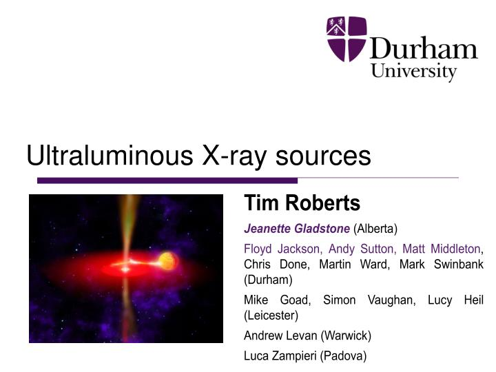 ultraluminous x ray sources n.