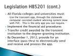 legislation hb5201 cont