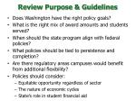 review purpose guidelines