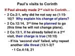 paul s visits to corinth