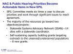 nac public hearing priorities become actionable items in new spil