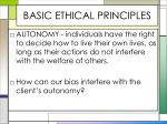 basic ethical principles1