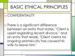 basic ethical principles10