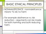 basic ethical principles3