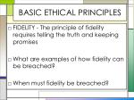 basic ethical principles4