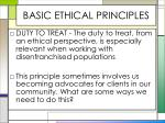basic ethical principles5