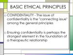 basic ethical principles6