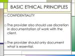 basic ethical principles9