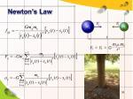 newton s law