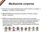mediazione corporea