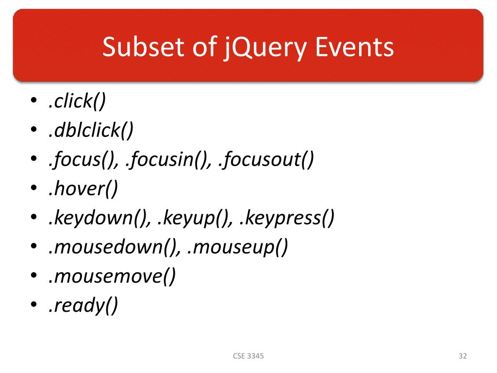 PPT - Introduction to jQuery PowerPoint Presentation - ID