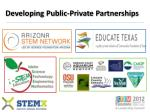 developing public private partnerships