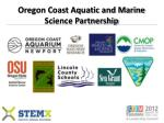 oregon coast aquatic and marine science partnership