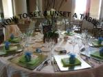 how t o set unset a table