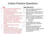 colour practice questions2