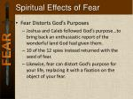 spiritual effects of fear1