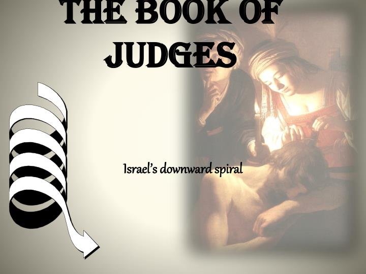 the book of judges n.