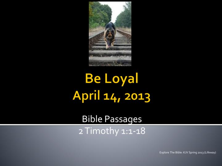 bible passages 2 timothy 1 1 18 n.