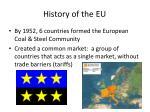 history of the eu1