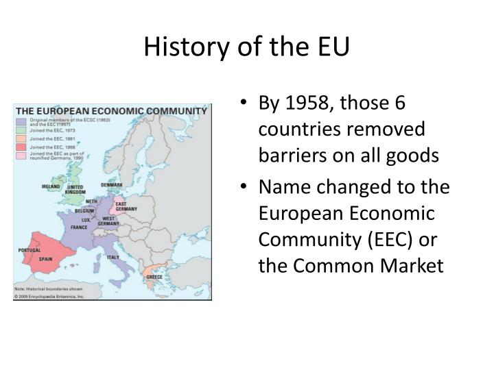 the european economic community and the euro Euro the common currency of the european union adopted by all member states excepting denmark, sweden and the uk it came into force on 1 january 1999 in the three organizations consisting of the european coal and steel community, established in 1952, the european economic community.