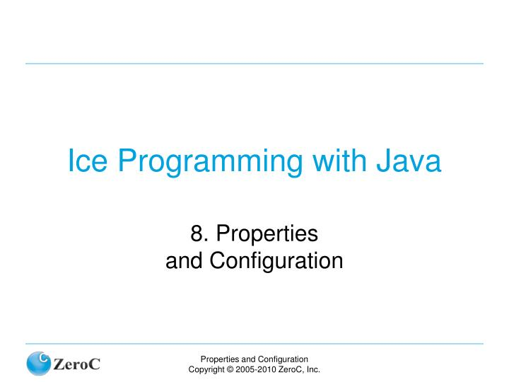 ice programming with java n.
