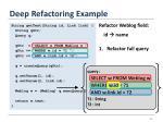deep refactoring example5