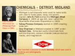 chemicals detroit midland