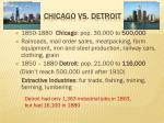 chicago vs detroit