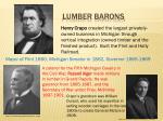 lumber barons