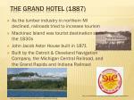 the grand hotel 1887
