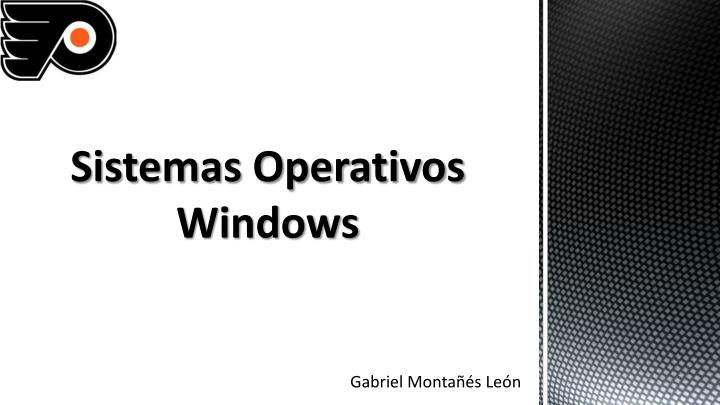 sistemas operativos windows n.
