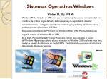 sistemas operativos windows3