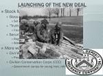 launching of the new deal2