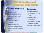 nsu retention and graduation rate study
