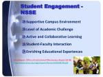 student engagement nsse
