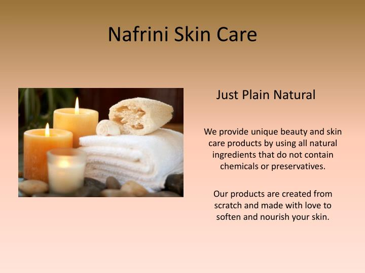 nafrini skin care n.