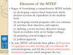 elements of the mtef