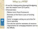 what is a mtef