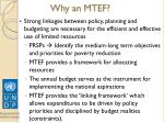 why an mtef
