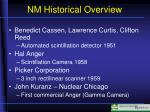 nm historical overview