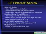 us historical overview