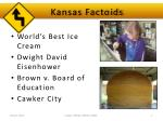 kansas factoids