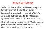 tehran conference1