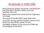 us attitude in 1939 1940